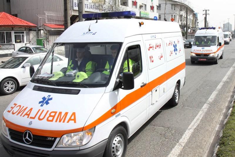 تصادف در سه راه اباتر صومعه سرا، ۱۴ مصدوم بر جا گذاشت