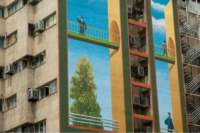 رنگی دیگر برای شهر خاکستری تهران
