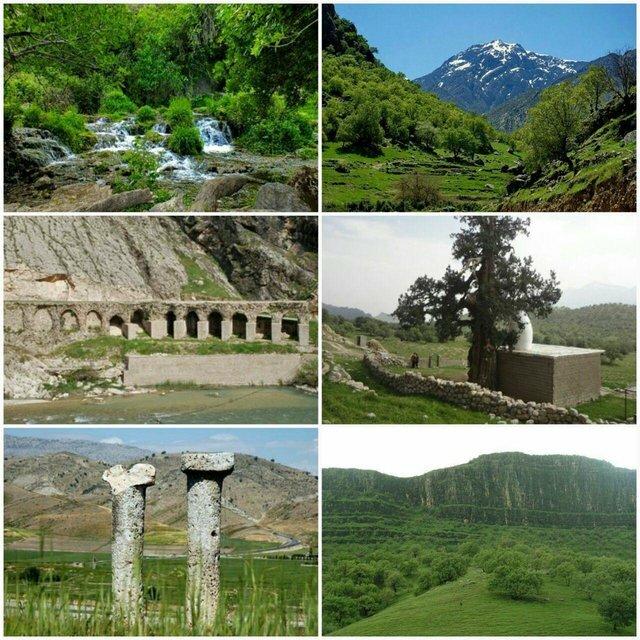 جاذبههای گردشگری باشت میزبان مسافران نوروزی