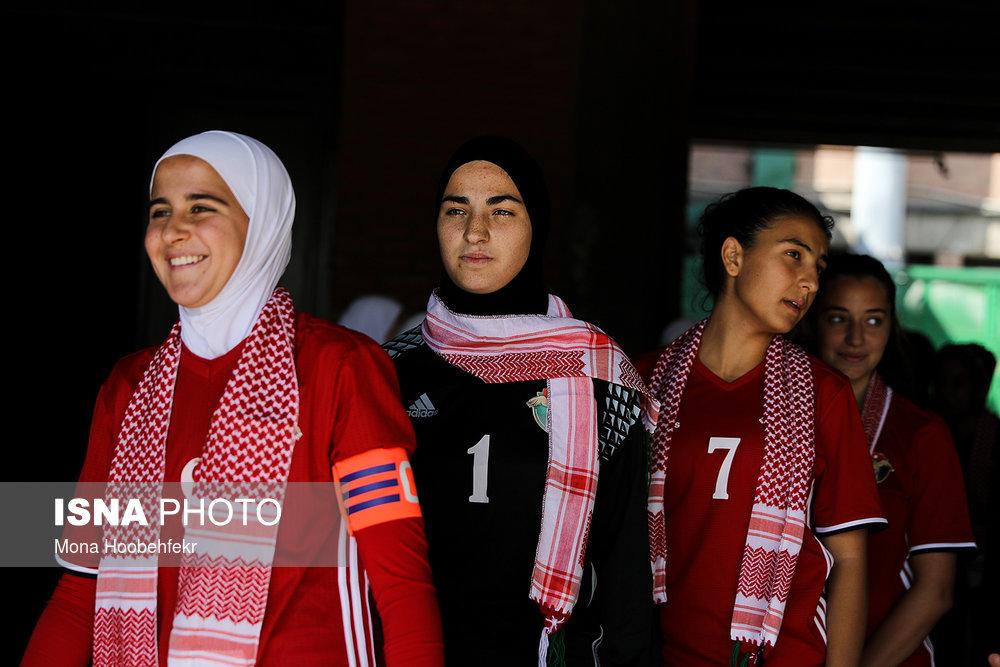 دیدار دوستانه  فوتبال جوانان دختر ایران و اردن (تصاویر) - 0