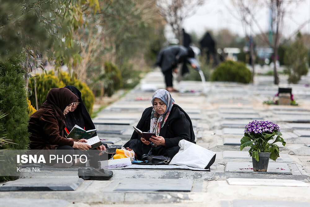 آخرین پنجشنبه سال در بهشت زهرا - 16