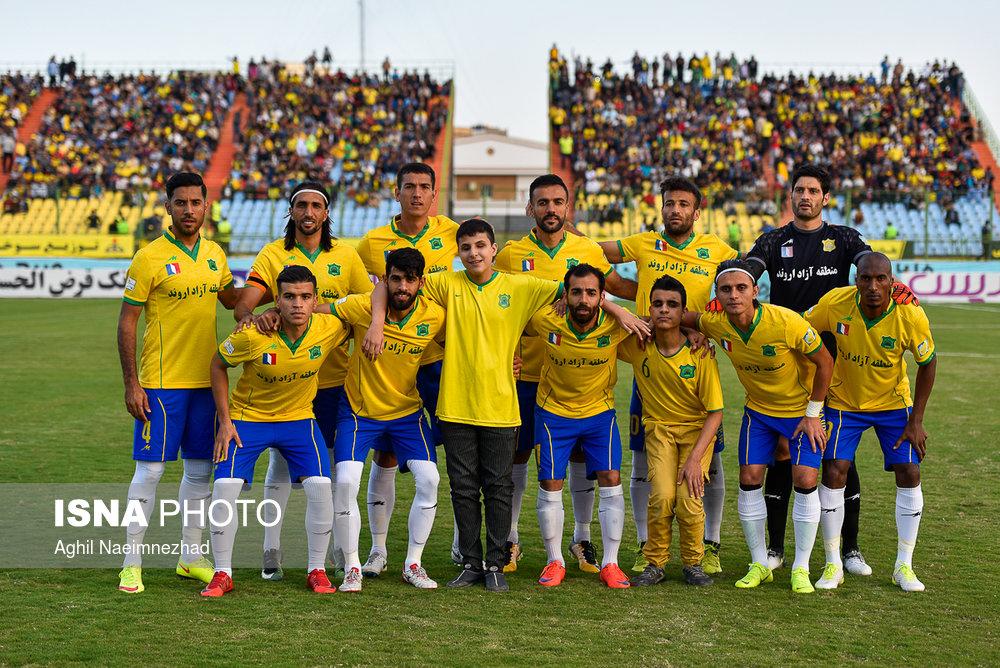 یک چهارم نهایی جام حذفی- دیدار تیمهای فوتبال صنعت نفت آبادان و سایپا - 8