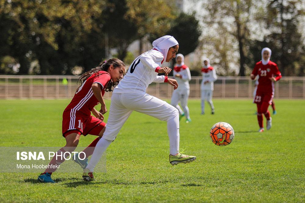 دیدار دوستانه  فوتبال جوانان دختر ایران و اردن (تصاویر) - 22