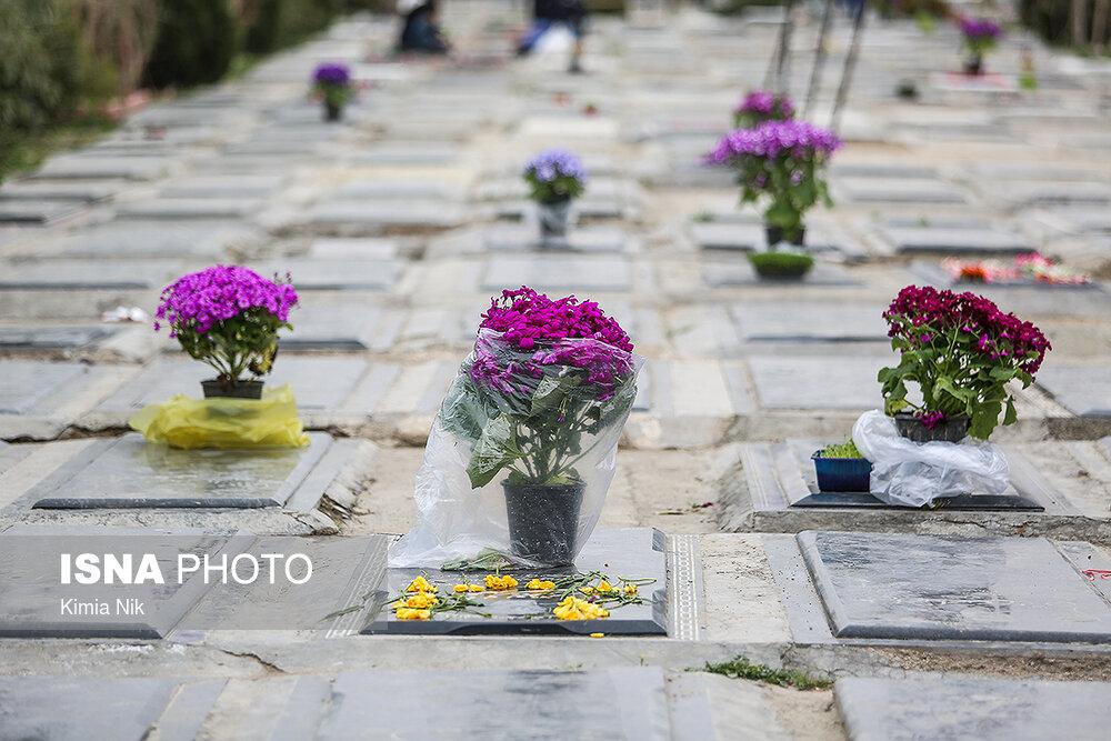 آخرین پنجشنبه سال در بهشت زهرا - 33