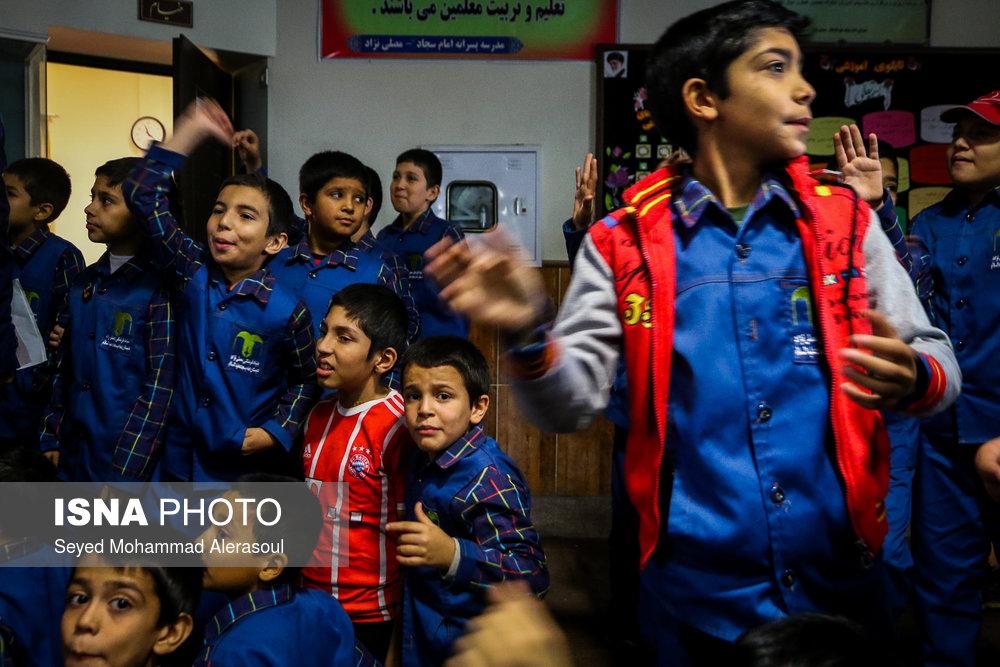 تماشای بازی پرسپولیس و کاشیما آنتلرز ژاپن در مدارس مشهد - 15