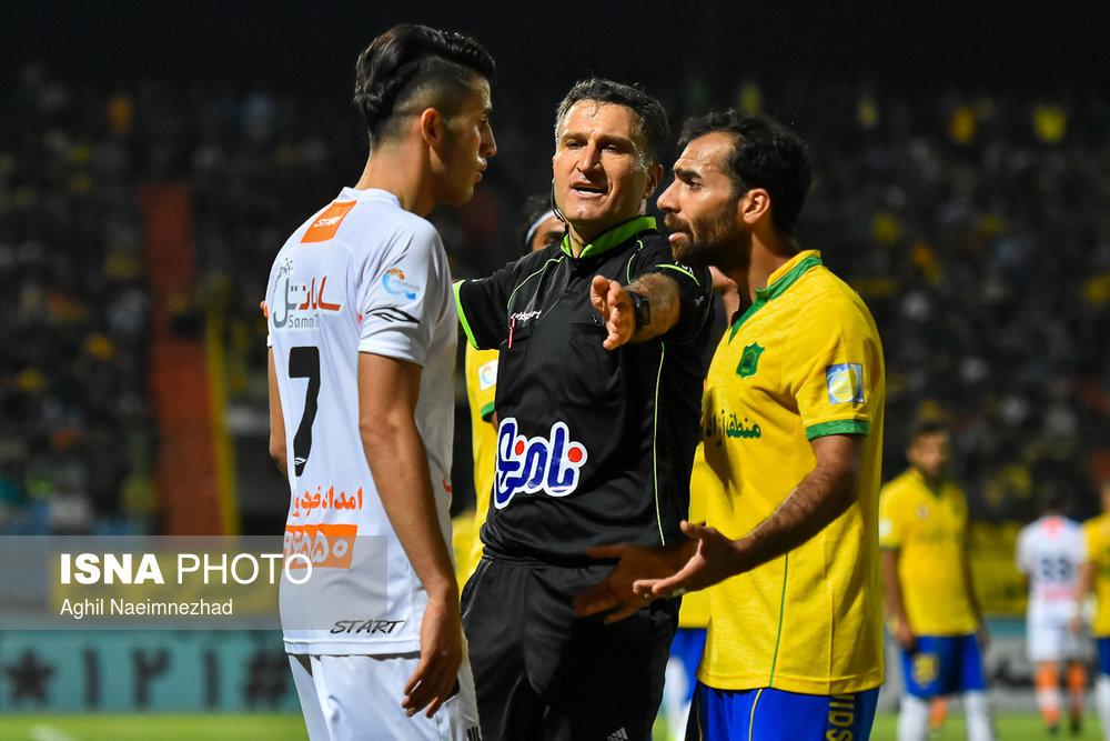 یک چهارم نهایی جام حذفی- دیدار تیمهای فوتبال صنعت نفت آبادان و سایپا - 24