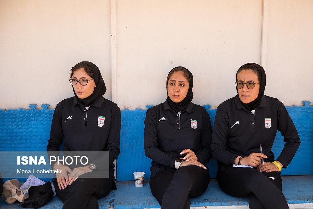 دیدار دوستانه  فوتبال جوانان دختر ایران و اردن (تصاویر) - 17
