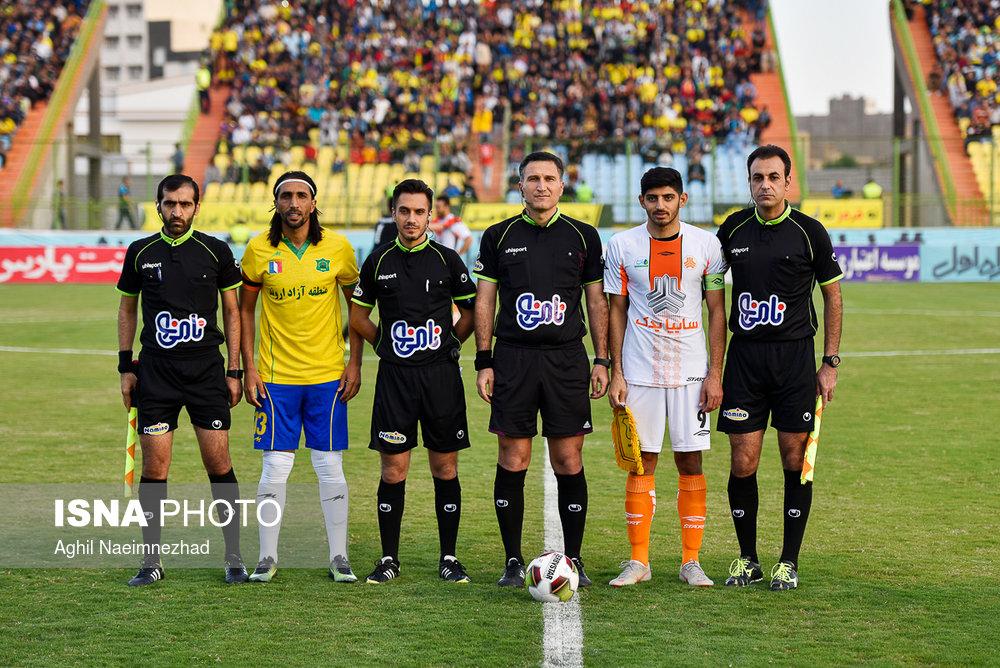 یک چهارم نهایی جام حذفی- دیدار تیمهای فوتبال صنعت نفت آبادان و سایپا - 7