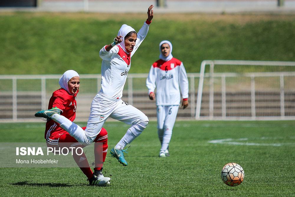 دیدار دوستانه  فوتبال جوانان دختر ایران و اردن (تصاویر) - 34