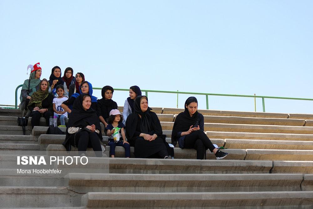 دیدار دوستانه  فوتبال جوانان دختر ایران و اردن (تصاویر) - 7