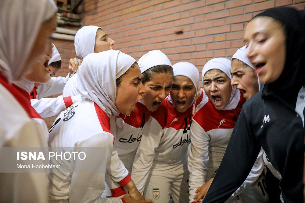 دیدار دوستانه  فوتبال جوانان دختر ایران و اردن (تصاویر) - 15