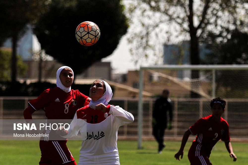 دیدار دوستانه  فوتبال جوانان دختر ایران و اردن (تصاویر) - 33