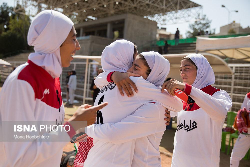 دیدار دوستانه  فوتبال جوانان دختر ایران و اردن (تصاویر) - 32