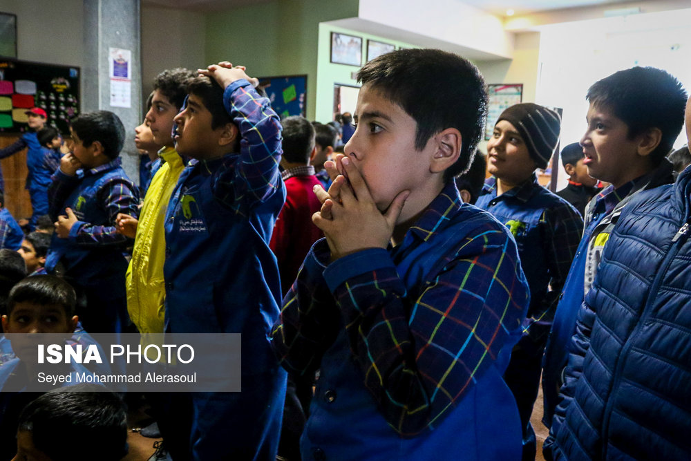 تماشای بازی پرسپولیس و کاشیما آنتلرز ژاپن در مدارس مشهد - 14