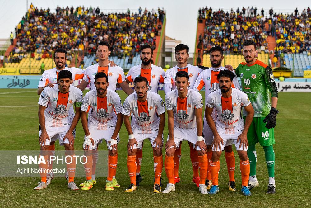 یک چهارم نهایی جام حذفی- دیدار تیمهای فوتبال صنعت نفت آبادان و سایپا - 9