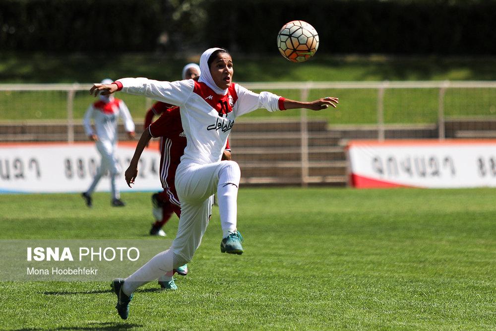 دیدار دوستانه  فوتبال جوانان دختر ایران و اردن (تصاویر) - 9