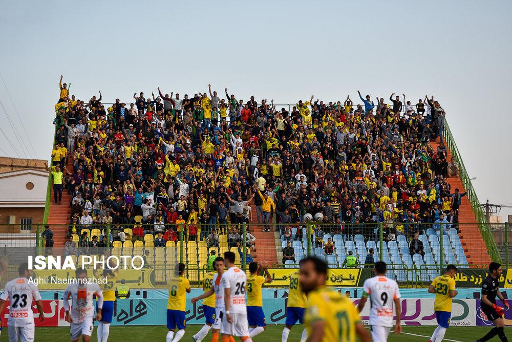 یک چهارم نهایی جام حذفی- دیدار تیمهای فوتبال صنعت نفت آبادان و سایپا - 10