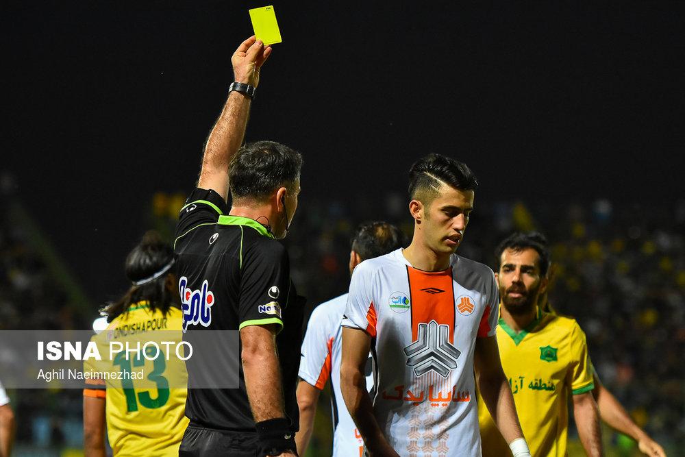 یک چهارم نهایی جام حذفی- دیدار تیمهای فوتبال صنعت نفت آبادان و سایپا - 11