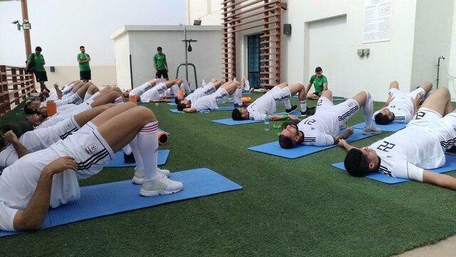 آخرین تمرین بازیکنان تیم ملی پیش از بازی با ژاپن + تصاویر - 7