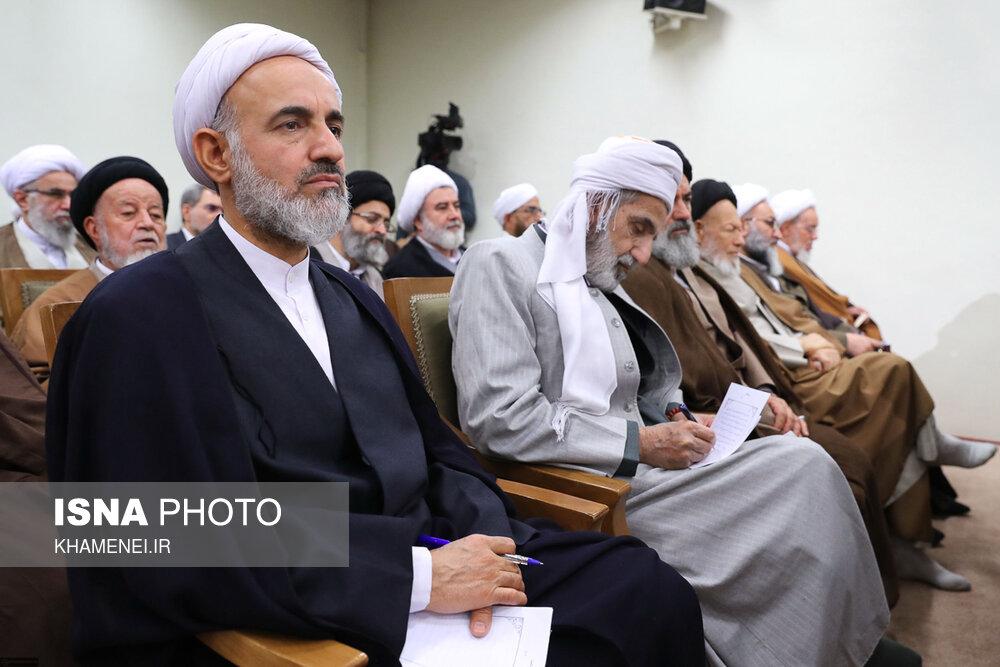 دیدار اعضای مجلس خبرگان رهبری با رهبر انقلاب - 4
