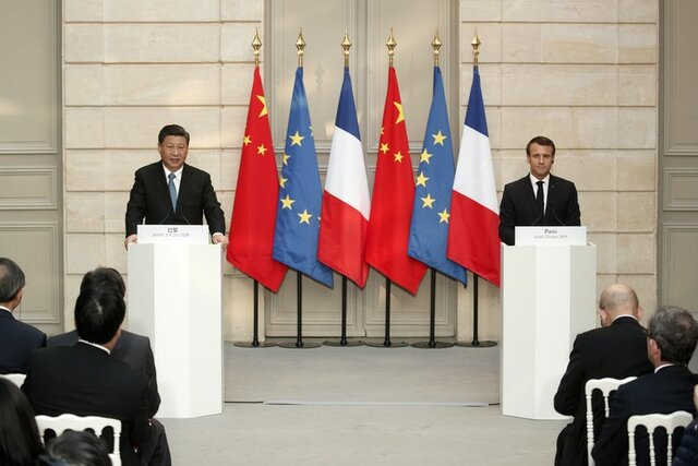 چین و فرانسه بر حمایت از دستیابی به خلع تسلیحات اتمی شبهجزیره کره تاکید کردند