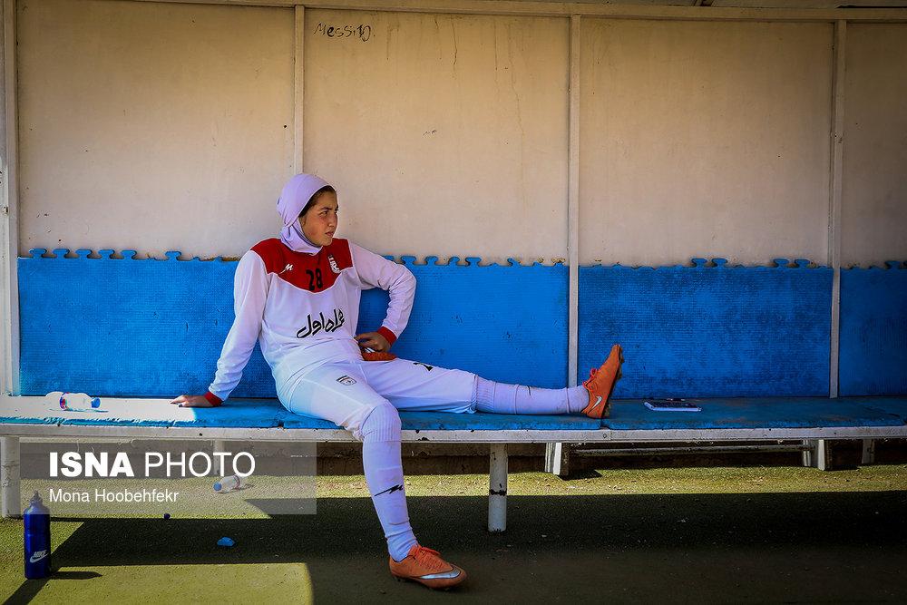 دیدار دوستانه  فوتبال جوانان دختر ایران و اردن (تصاویر) - 12