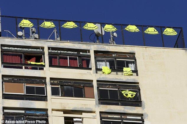 """پاریس با زرهپوش در انتظار گردباد اعتراضات """"جلیقه زردها"""" - 8"""