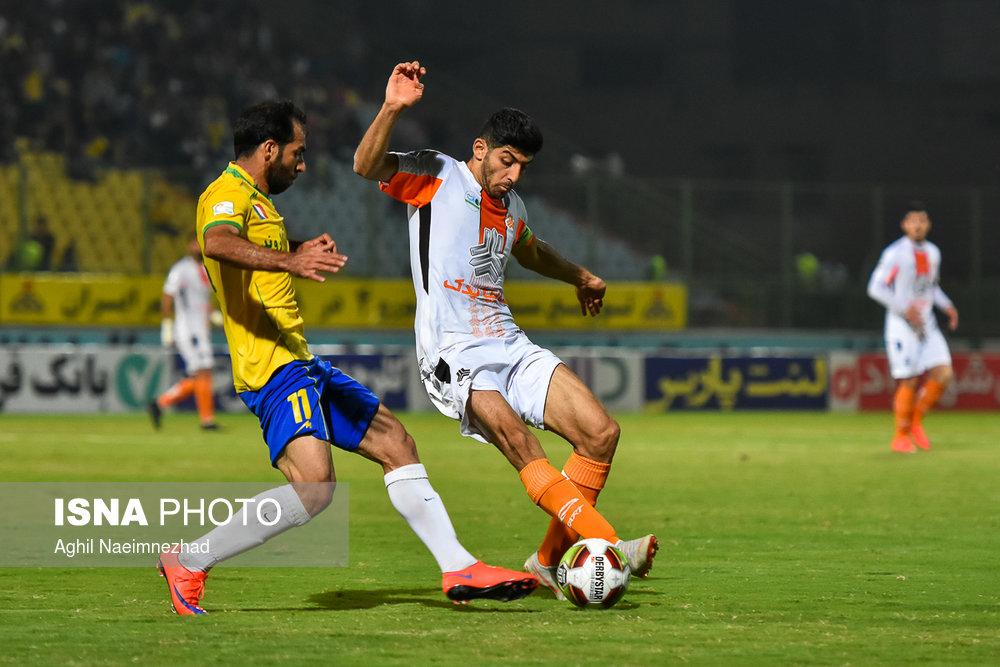 یک چهارم نهایی جام حذفی- دیدار تیمهای فوتبال صنعت نفت آبادان و سایپا - 18
