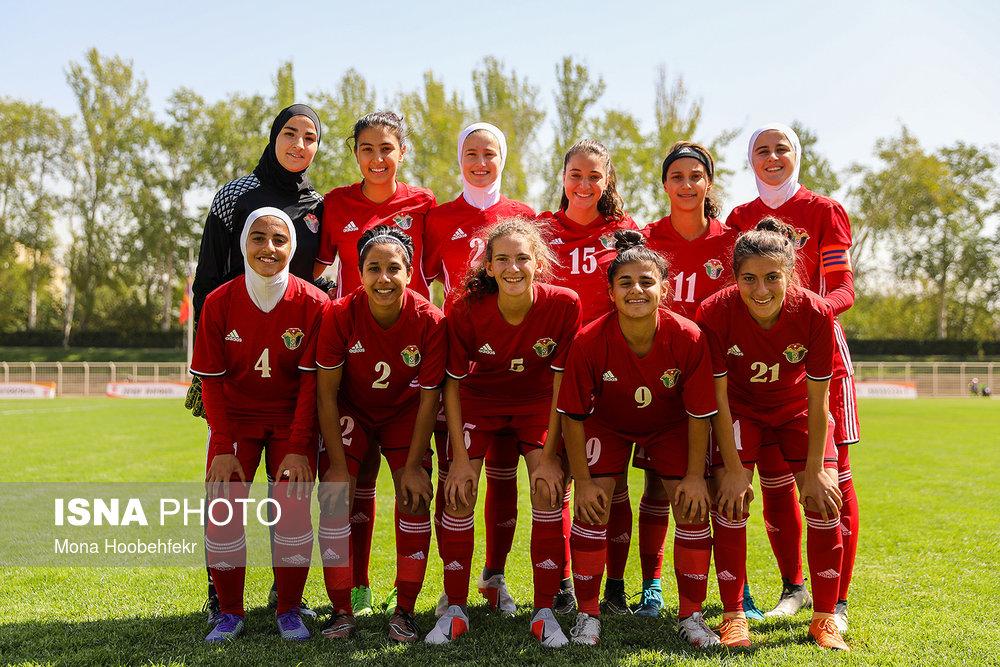 دیدار دوستانه  فوتبال جوانان دختر ایران و اردن (تصاویر) - 4