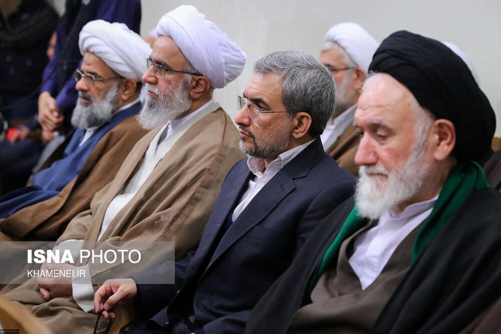 دیدار اعضای مجلس خبرگان رهبری با رهبر انقلاب - 11