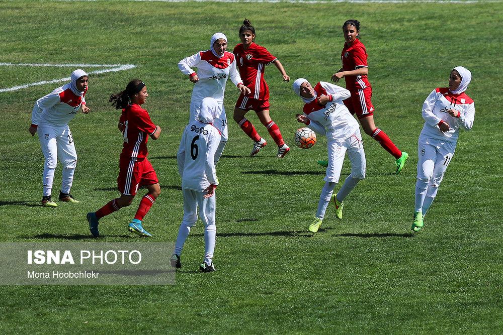 دیدار دوستانه  فوتبال جوانان دختر ایران و اردن (تصاویر) - 10