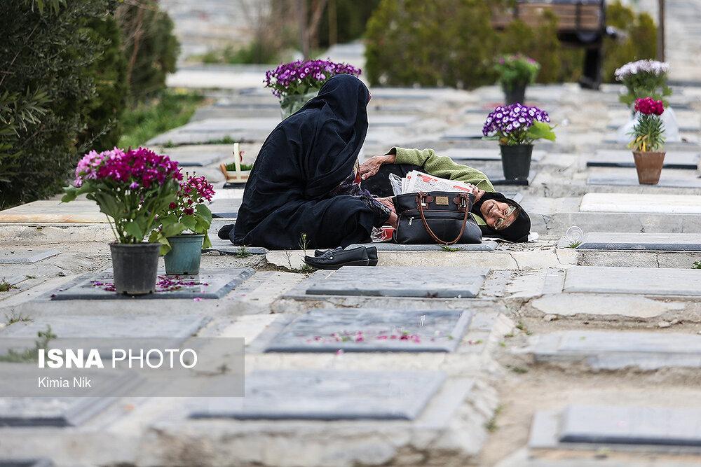 آخرین پنجشنبه سال در بهشت زهرا - 31