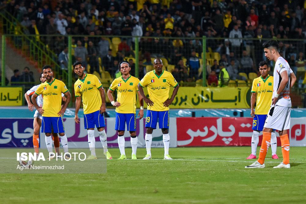 یک چهارم نهایی جام حذفی- دیدار تیمهای فوتبال صنعت نفت آبادان و سایپا - 28