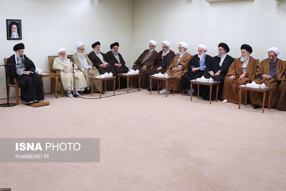 دیدار اعضای مجلس خبرگان رهبری با رهبر انقلاب - 3
