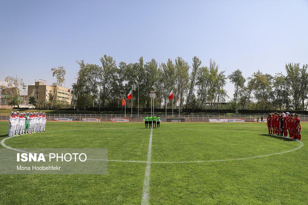 دیدار دوستانه  فوتبال جوانان دختر ایران و اردن (تصاویر) - 3