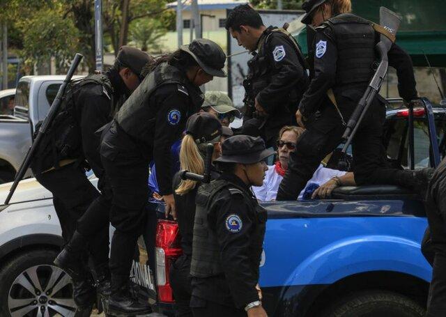 خشونت پلیس در تظاهرات نیکاراگوئه و بازداشت دهها تن - 8
