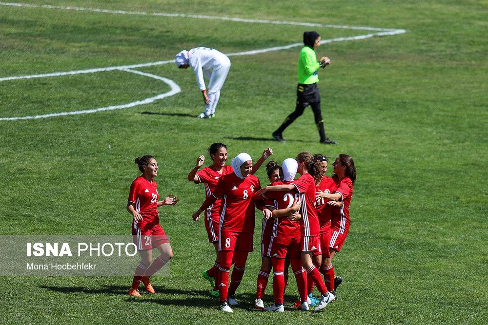 دیدار دوستانه  فوتبال جوانان دختر ایران و اردن (تصاویر) - 28
