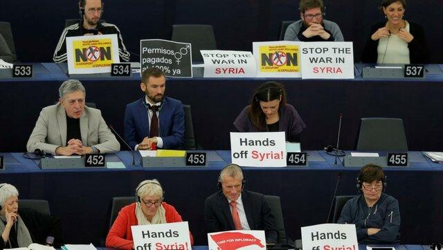 درخواست قانونگذاران اروپایی برای لغو نمایندگی دیپلماتیک سوریه در اتحادیه اروپا