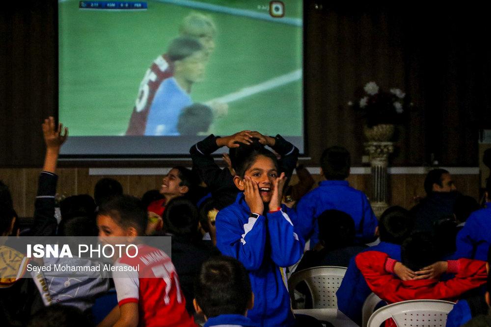 تماشای بازی پرسپولیس و کاشیما آنتلرز ژاپن در مدارس مشهد - 5