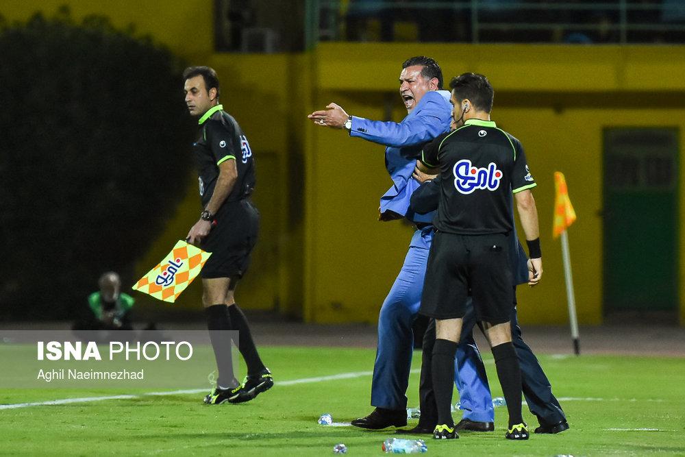 یک چهارم نهایی جام حذفی- دیدار تیمهای فوتبال صنعت نفت آبادان و سایپا - 27