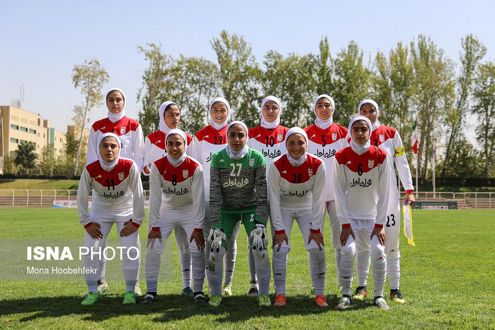 دیدار دوستانه  فوتبال جوانان دختر ایران و اردن (تصاویر) - 5