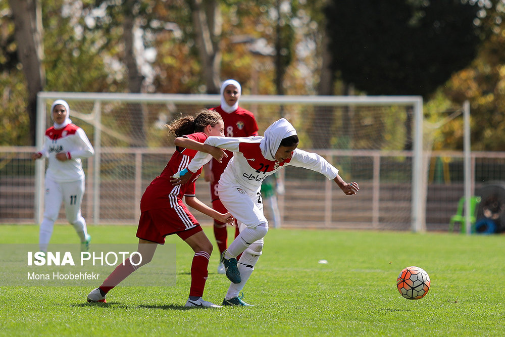 دیدار دوستانه  فوتبال جوانان دختر ایران و اردن (تصاویر) - 24