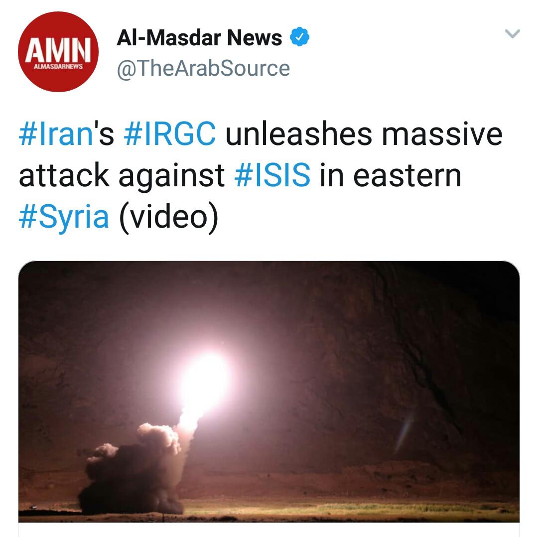 بازتاب حمله موشکی سپاه به مواضع طراحان حمله تروریستی اهواز در رسانههای خارجی - 31
