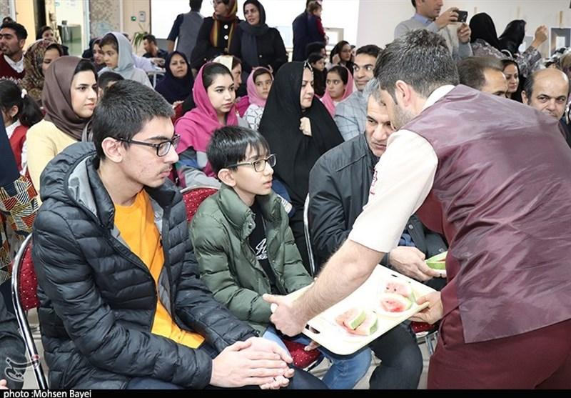 یلدای مهربانی در بیمارستان کاشان+تصاویر - 7