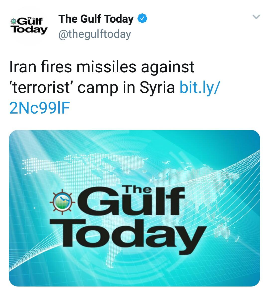 بازتاب حمله موشکی سپاه به مواضع طراحان حمله تروریستی اهواز در رسانههای خارجی - 35