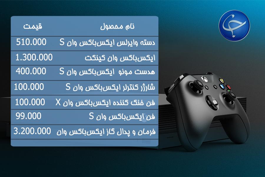 آخرین قیمت انواع کنسول بازی و لوازم جانبی در بازار (تاریخ ۲۳ بهمن) +جدول - 13