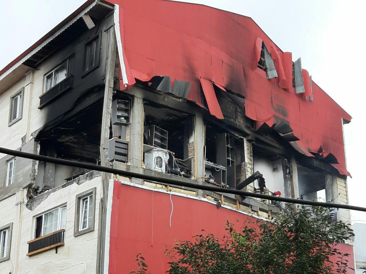 انفجار آپارتمان مسکونی در صومعه سرا
