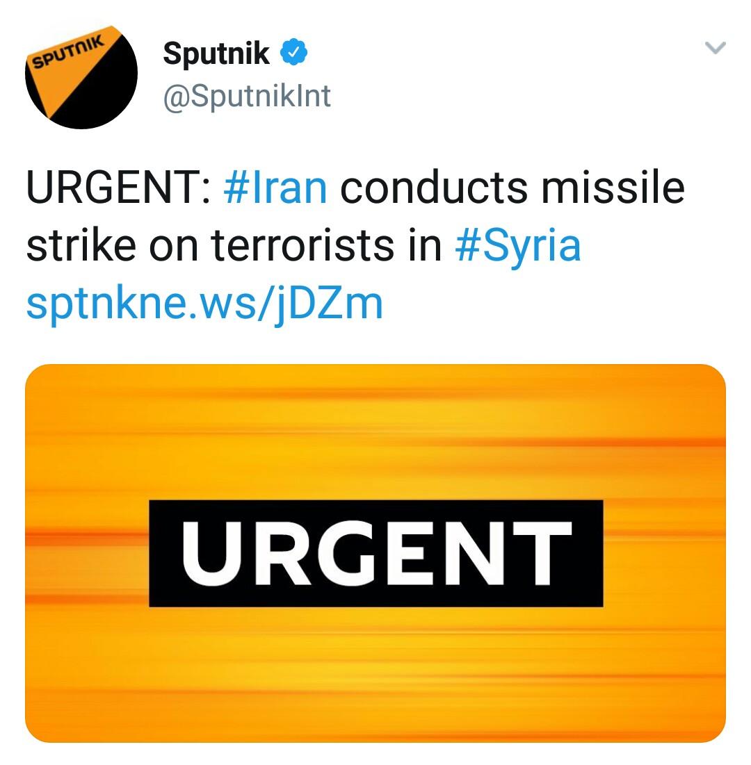بازتاب حمله موشکی سپاه به مواضع طراحان حمله تروریستی اهواز در رسانههای خارجی - 25