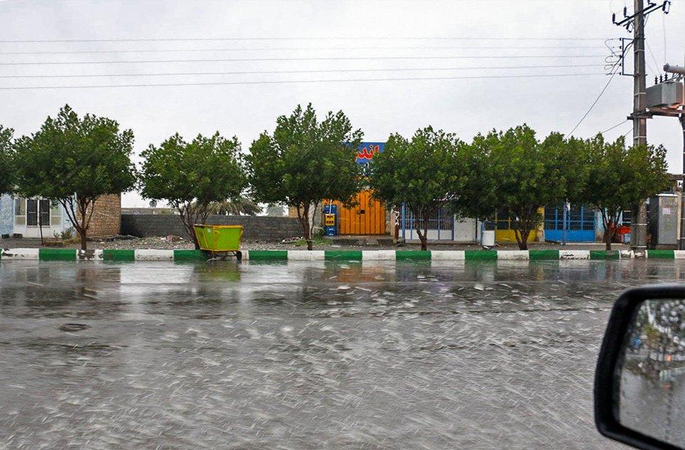 رانش زمین یک روستا در بویراحمد را بلعید!