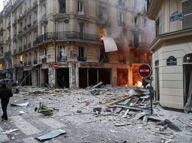 وقوع انفجاری مهیب در مرکز پاریس - 2